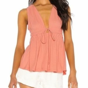 NEW Free People Beach Bound Tank Top Size L
